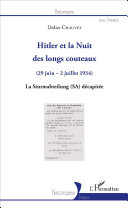 Pdf Hitler et la Nuit des longs couteaux Telecharger