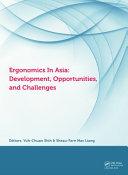 Ergonomics in Asia: Development, Opportunities and Challenges