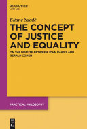 The Concept of Justice and Equality