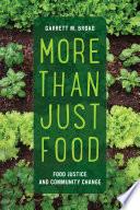 More Than Just Food Book PDF
