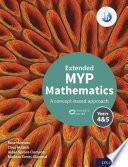 MYP Mathematics 4 5 Extended