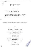 Earle s Microcosmography