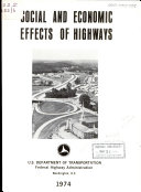 Social and Economic Effects of Highways