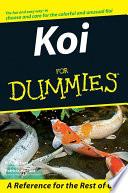 """Koi For Dummies"" by R. D. Bartlett, Patricia Bartlett"