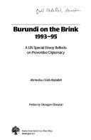 Burundi on the Brink, 1993-95