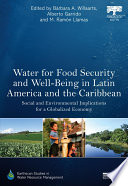 Water for Food Security and Well being in Latin America and the Caribbean
