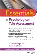 Essentials Of Psychological Tele Assessment Book PDF