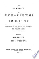 Novels And Miscellaneous Works