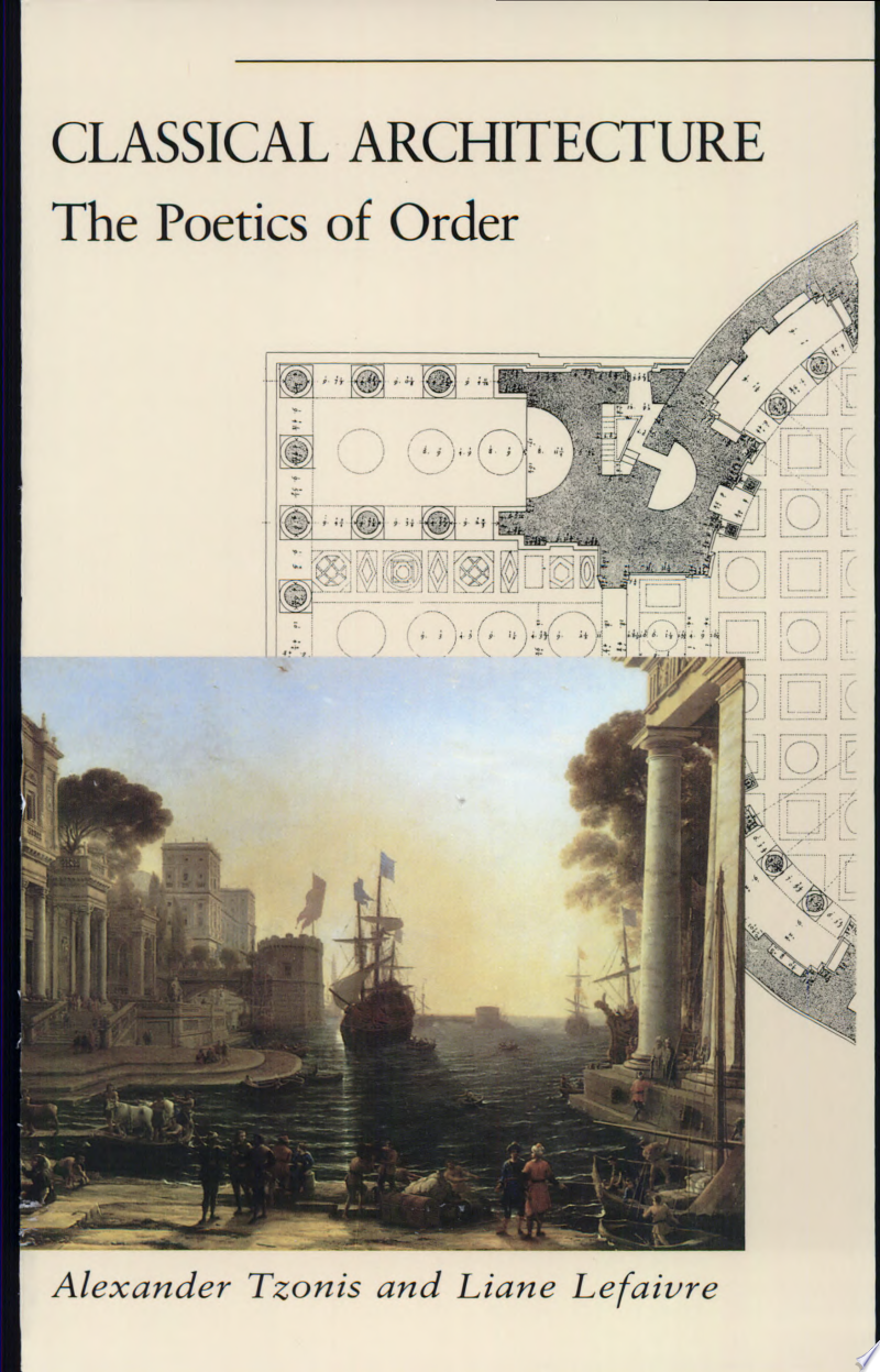 Classical Architecture banner backdrop