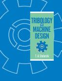 Pdf Tribology in Machine Design