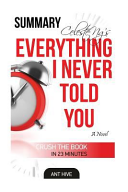 Celeste Ng s Everything I Never Told You Summary and Review
