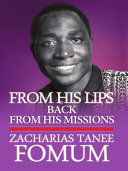 From His Lips  Back From His Missions