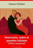 Souvenirs, notes et pensées intimes