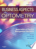 Business Aspects of Optometry E Book Book