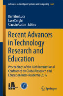Recent Advances in Technology Research and Education