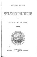 Annual Report of the State Board of Horticulture of the State of California