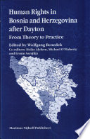 Human Rights In Bosnia And Herzegovina After Dayton