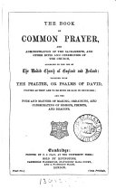 Pdf The Prayer book interleaved with historical illustrations and explanatory notes arranged parallel to the text, by W.M. Campion and W.J. Beamont