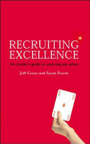 Cover of Recruiting Excellence