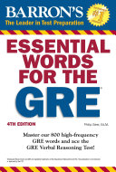 Essential Words for the GRE, 4th edition