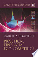 Market Risk Analysis  Practical Financial Econometrics Book