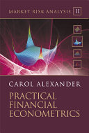 Market Risk Analysis, Practical Financial Econometrics