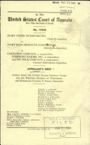 Dairy Foods Incorporated V  Dairy Maid Products Company Book