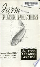 Farm Fishponds for Food and Good Land Use