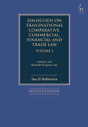 Dalhuisen on Transnational Comparative  Commercial  Financial and Trade Law Volume 2