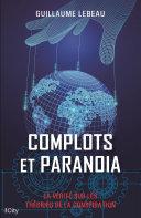 Pdf Complots et paranoïa Telecharger