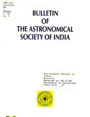 Bulletin of the Astronomical Society of India