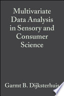 Multivariate Data Analysis in Sensory and Consumer Science Book