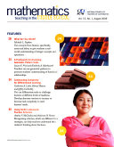 Mathematics Teaching in the Middle School Book
