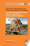 Von der nationalen zur internationalen Literatur
