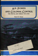 Air Power and Colonial Control