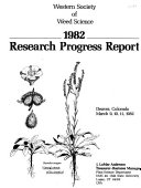 Research Progress Report - Western Society of Weed Science