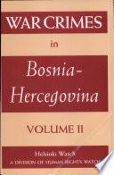 War Crimes In Bosnia Hercegovina
