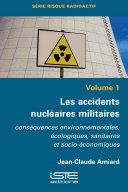 Pdf Les accidents nucléaires militaires Telecharger