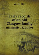 Early records of an old Glasgow family