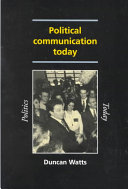 Political Communication Today