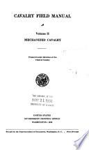 Cavalry Field Manual     Book PDF