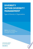 Diversity within Diversity Management Book