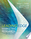 Leading Edge Marketing Research Book PDF