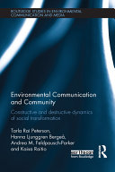 Pdf Environmental Communication and Community Telecharger