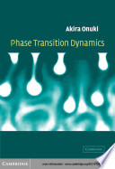 Phase Transition Dynamics Book