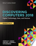 Discovering Computers  Essentials   2018  Digital Technology  Data  and Devices
