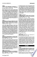 Housing Abstracts