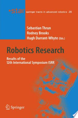 Download Robotics Research Free Books - Dlebooks.net