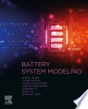 Battery System Modeling Book