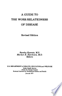 A Guide to the Work relatedness of Disease
